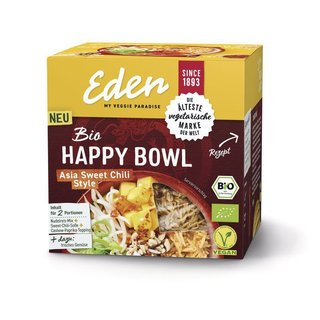 Eden my veggie paradise Happy Bowl Asia Sweet Chili Style - Bio - 274g