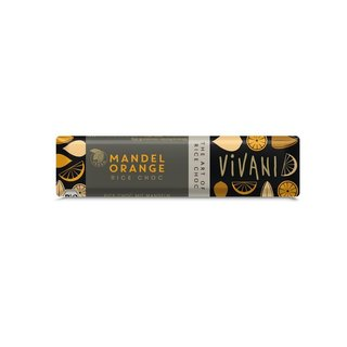 Vivani Mandel Orange Schokoriegel - Bio - 35g