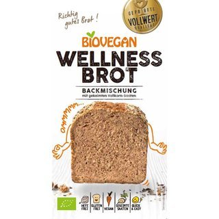 Biovegan Wellness Brot Backmischung - Bio - 320g