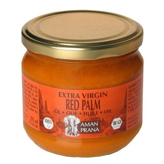 Amanprana Extra Virgin Red Palm rotes Palmöl - Bio - 325ml