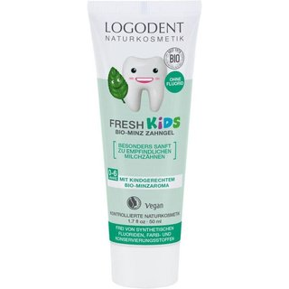 Logona Fresh Kids Minz Zahngel - 50ml