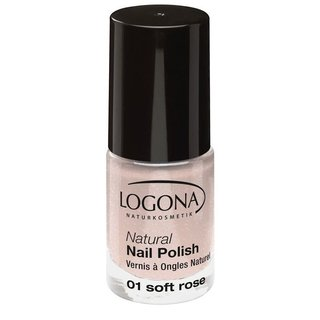 Logona Natural Nail Polish no. 01 soft rose 4ml